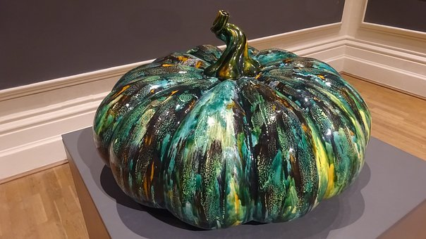Pumpkin, Food, Vegetable, Health, Pottery