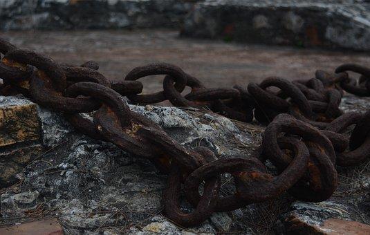 String, Sea, Boat, Fortress, San Juan De Ulua, Oxide