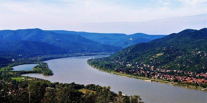 Body Of Water, Nature, Hungary, Danube, River