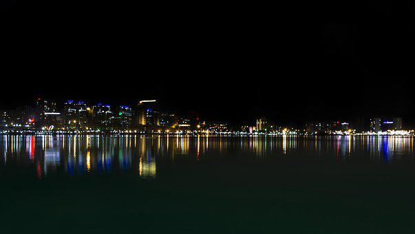 Panoramic, Water, Reflection, City, Panorama, River