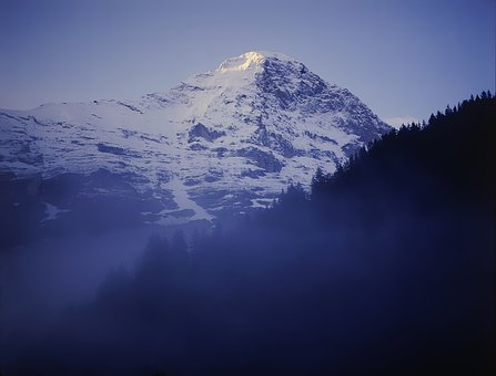 Eiger, Grindelwald, Northface, Sky, Nature, Landscape