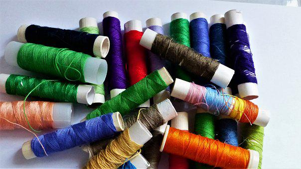 Wire, Couture, Textile, Create, Coil, Darning, Sewing