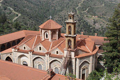 Architecture, Church, Old, Travel, Roof, Cyprus