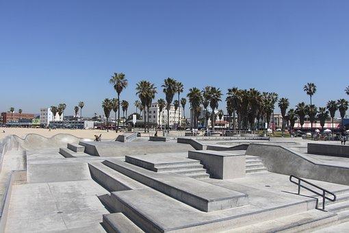 Travel, Architecture, Tourism, City, Sky, Venice Beach