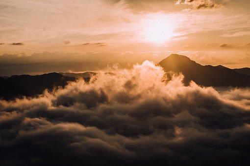 Sky, Cloud, Mountains, Tree, Image View, Horizon