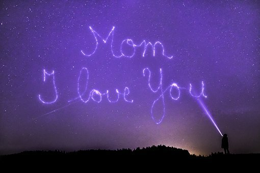 Mother's Day, Mother, Star, Universe, All, Space