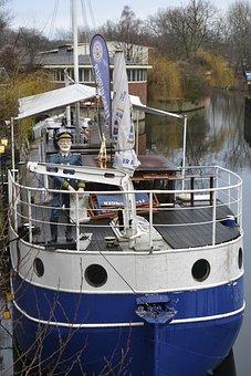 Industry, Steel, Waters, Travel, Ship, Berlin, River