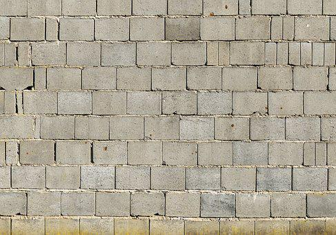 Sand-lime Brick, Wall, Weathered, Dirty, Joints