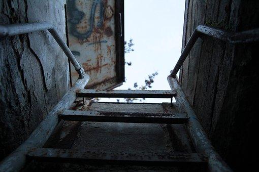 Window, Dark, Light, Abandoned, Desolated, Empty, Old