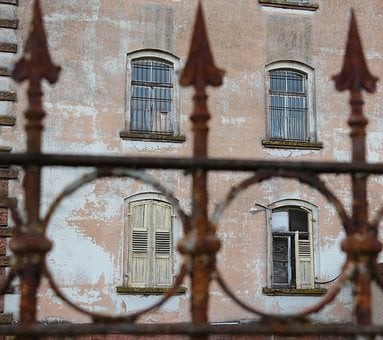 Architecture, Old, Building, Window, Home, Fence