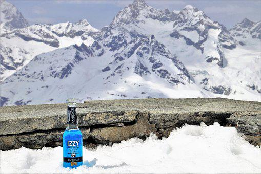 Banned, Alcohol, The Alps, Snow, Ice, Winter, Cold