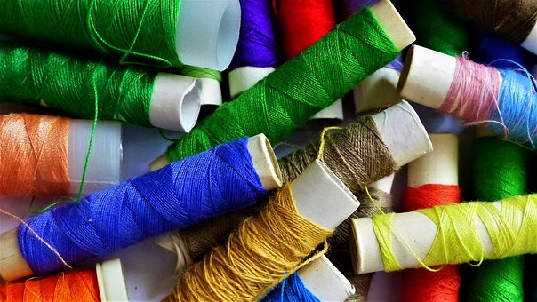 Wire, Textile, Couture, Cotton, Create, Multicolor