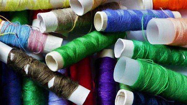 Wire, Couture, Textile, Coil, Create, Sewing