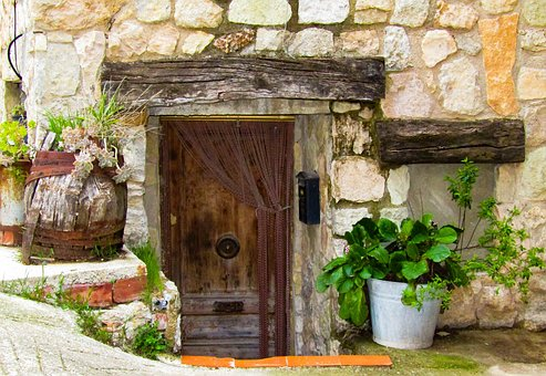 House, Architecture, Door, Wall, Wood, Old, Family