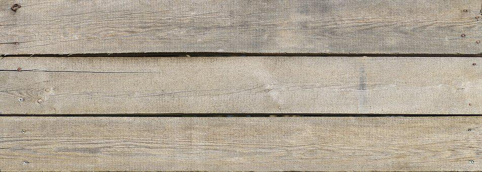 Boards, Wooden Boards, Rough Sawn, Nailed, Panel