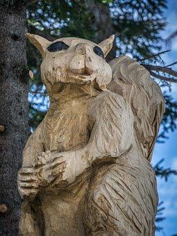 Woodcut, Art, Wooden Sculpture, Wood