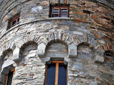 The Alps, Zermatt, Architecture, Stone, Lake Dusia