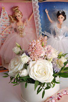 Bouquet, Flower, Rose, Lovely, Baby Doll, No One