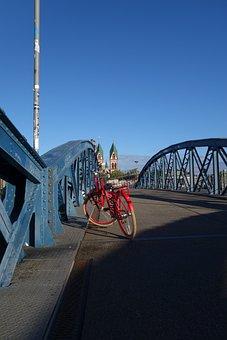 Bike, Bicycles, Cycle, Bike Ride, Colorful Bike, Bridge
