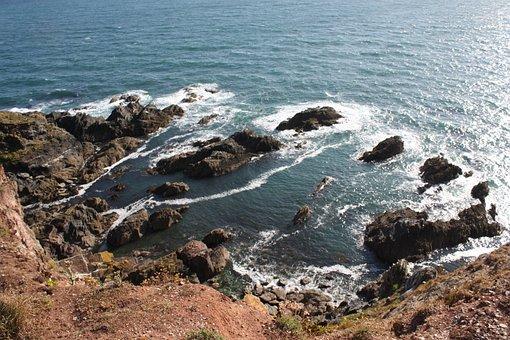 Sea, Coast, Waters, Nature, Beach, Britannia, Plymouth