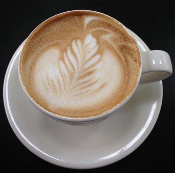 Coffee, Cappuccino, Foam, Espresso, Cup, Latte