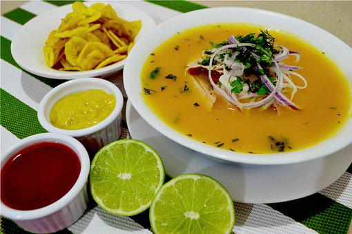 Onions, Fish, Albacore, Chifles, Guayaquil, Guayas