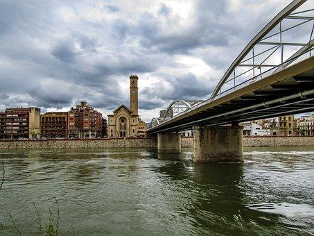 River, Body Of Water, Bridge, Architecture, City
