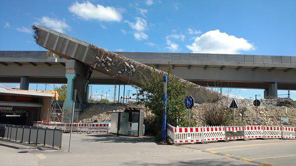 Bridge, Site, Demolition, A7, A7-expansion