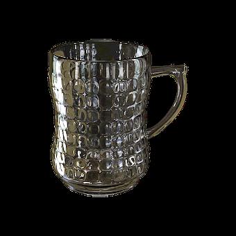 Beer Mug, Transparent Background, Glass Glass