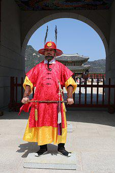 Republic Of Korea, Korea, Seoul, Gyeongbok Palace