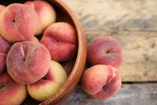 Peach, Nectarine, Food, Fruit, Healthy, Background