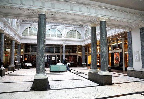 Architecture, Pillar, Luxury, Modern, Travel, City