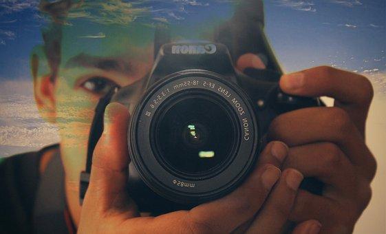 Lens, People, Technology, Equipment, Digital Camera