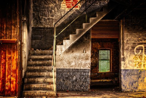Stairs, Emergence, Gradually, Rise, Staircase