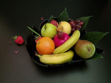 Still The Fruit Bowl Of Life, Mixed Fruit, Fruit
