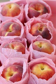 Peach, Nectarine, Fruit, Summer, Fresh, Diet, Dessert