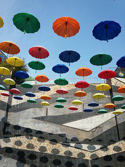 Umbrella, Color, Travel, Some People Don't, Art