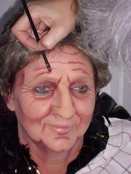 Woman, Portrait, Old, Grime, Elderly, People, Face