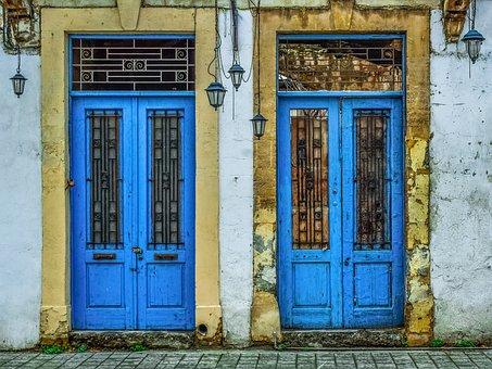Door, Doorway, Entrance, Architecture, Facade, House