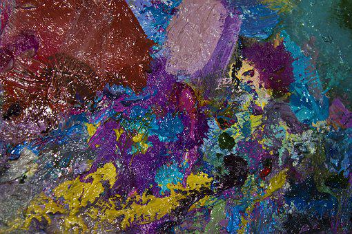 Color, Art, Watercolor, Bright, Surface, Paint