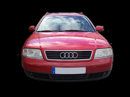 Audi, Audi A6, German Car Brand, German Car, Red Car