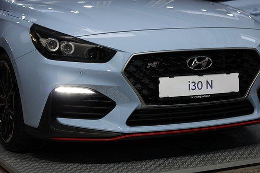 Car, Hyundai I30 N, Auto Show Zagreb 2018, Modern