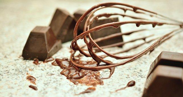 Chocolate, Whisk, Block Chocolate, Bake