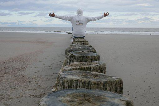 Sea, Waters, Sky, Beach, Sand, Travel, Ocean, Coast