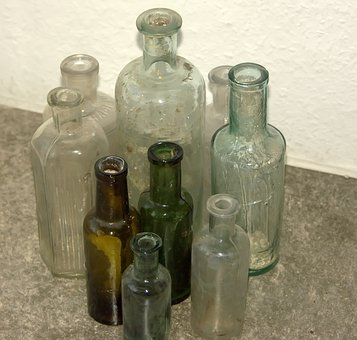 Glass, Bottle, Container, Alcohol, Liquid, Pharmacy