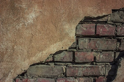 Wall, Stone, Brick, Old, Dirty, Background, Uneven
