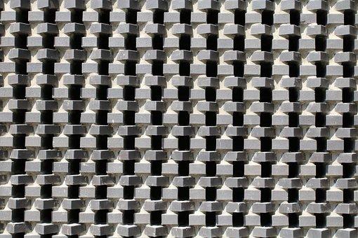 Pattern, Recurring, Geometric, Brick
