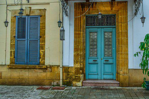 Door, House, Architecture, Window, Entrance, Facade