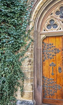 Door, Architecture, Old, Input, Wall, Ornament, Wood