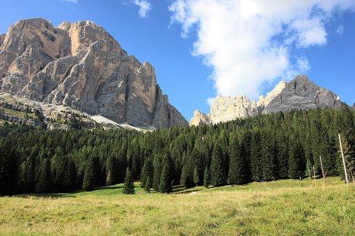 Mountain, Landscape, Nature, Sky, Travel, Panorama